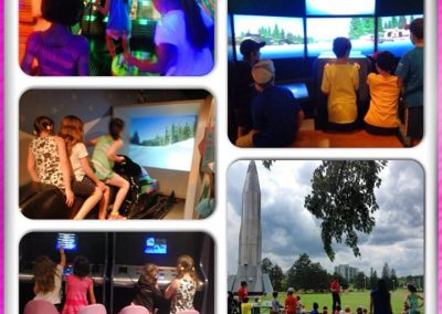 Field trip to science and tech museum- Week 3