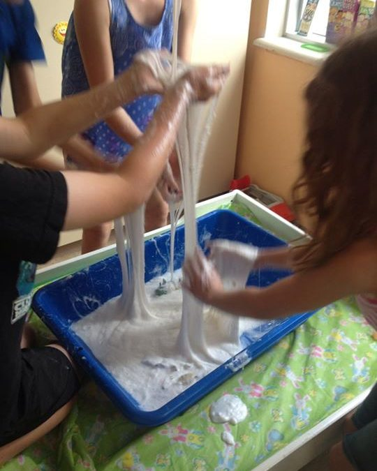Four EASY Sensory Activities Kids LOVE!