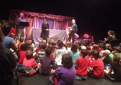 Theatre visit with the children